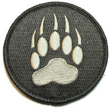 BLACKWATER TRACKER BEAR PAW 3D U.S. ARMY EMBROIDERED MORALE BADGE PATCH