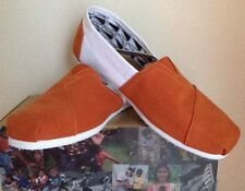 TOMS Women's Classics UT Austin Slip On Shoes. Size 8
