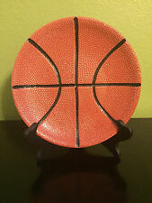 1 Pottery Barn Game Plan Basketball Appetizer Snack Salad Sports Team Plate(s)