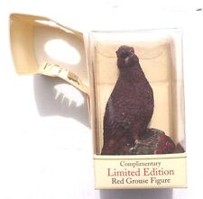 NOS The Famous Grouse Scotch Whiskey Limited Edition Figure Red Grouse Figure