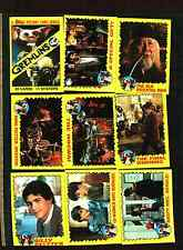 1984 Topps Gremlins  Trading Card Set 88 Cards With 11 Stickers