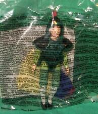 "McDonald's Mulan #1 Doll Removable Armor changeable Outfit 4.5""  Disney Toy 1998"