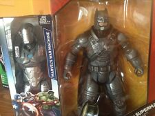 DC Comics MULTIVERSE ARMORED Batman & Marvel's War Machine 12 inch figures