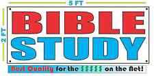 BIBLE STUDY Full Color Banner Sign NEW Larger Size Best Quality for the $$$