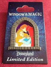 Disney DLR Sleeping Beauty Aurora Prince Phillip Window to the Magic Pin LE 1000