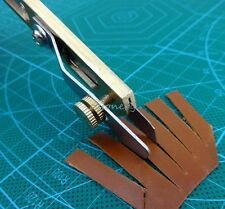 Leather Line Strip Knife Tool Copper Trimming Knife Positioning Cutter