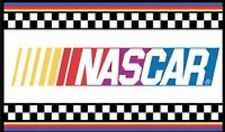 NASCAR checkered flag stripe banner with 2 Metal Grommets 3X5 ft indoor outdoor