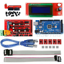 Arduino Mega2560 Board+Ramps 1.4+ 5*A4988+2004 LCD Controller for 3D Printer Kit