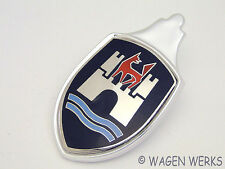 VW BugHood Crest - Bug 1960 to 1962 Black - Aftermarket