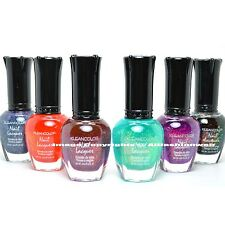 KLEANCOLOR 6 CHUNKY HOLO COLLECTION COLOR MIXED NAIL POLISH LACQUER KMIX03