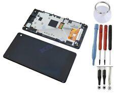 ECRAN LCD + VITRE TACTILE SUR CHASSIS SONY XPERIA Z1 COMPACT MINI Z1c M51w D5503