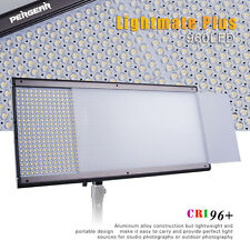 Pergear Ultra Thin CRI 96+ 5500K Dimmable 960 LED Video Photography Light + Bag