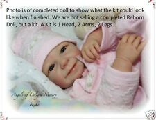 REBORN DOLL KIT, RIEKE BY LINDE SCHERER, FULL ARMS, 3/4 LEGS VINYL KIT