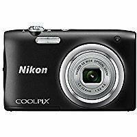 Nikon Coolpix A100 20.1 Megapixel Compact Digital Camera - Black SMP1