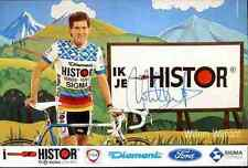 WILLEM WIJNANT Team HISTOR SIGMA Signed Autograph cycling dédicace cyclisme