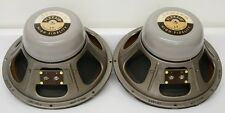 50s Vintage Jensen 12'' High Fidelity Alnico Speaker Pair NEAR MINT original