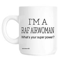 RAF Airwoman Funny Gift Mug shan309