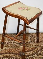 Antique Victorian Sloping Music Stool / Clerk Stool - FREE Delivery [PL1787]