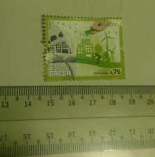 Portugal 0.75 Euro Stamp Madeira Think Green art