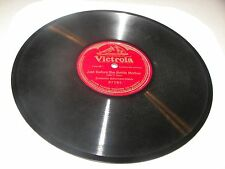 "Ernestine Schumann-Heink Just Before The Battle Mother 10"" 78 Victrola 87282"