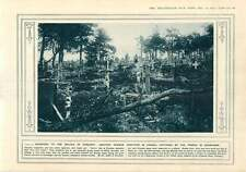 1915 German Cemetary Captured Champagne