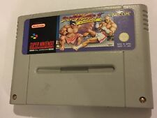 PAL SUPER NINTENDO ENTERTAINMENT SNES Cartucho Street Fighter II SYSTEM 2 Turbo