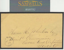MS782 1874 CANADA Local Prepaid Mail Ontario *Shelburne* Scarce Origin CDS