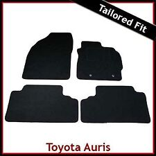Toyota Auris Mk1 E150 2006-2012 Fully Tailored Fitted Carpet Car Mats BLACK