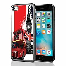 London Tour Bus For Iphone 7 Case Cover By Atomic Market