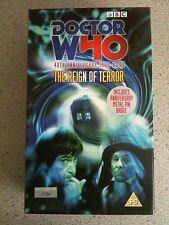 Doctor Who 40th Anniversary 1963-2003 The Regin Of Terror VHS