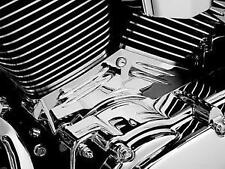 Harley FLHR Road King 1999-2006Cylinder Base Side Cover Chrome by Kuryakyn