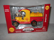 Gearbox 1912 Ford Tanker - Shell Motor Oil - 1:24 Scale - Limited Edition - NIB
