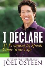 I Declare : 31 Promises to Speak over Your Life by Joel Osteen (2012, Hardcover)