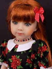 "MARU AND FRIENDS savannah Doll 20"" sclpt Dianna Effner 2outfits Muneca Bambola"