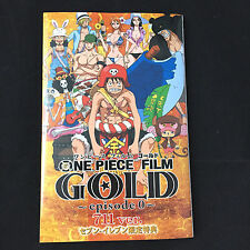 ONE PIECE Film Gold Episode 0 LIMITED BOOK 711 ver / Japanese Anime manga Art
