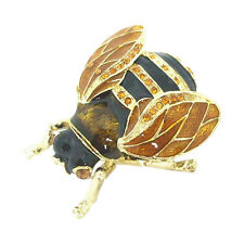 Welforth Pewter Bumble Bee Novelty Trinket Box