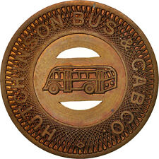 [#410839] United States, Token, Hutchinson Bus & Cab Company