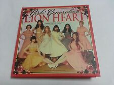 SNSD K-POP 5th album Lion Heart CD Booklet [NO Photocard] Girls' generation SM
