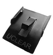 UClear 11001 Permanent Mounting Clip (2 Pack) for all HBC100 and HBC200 Bluetoot