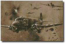 D-Day Drop 'Stick 21' by Robert Taylor - 101st Airborn - WWII - Aviation Art