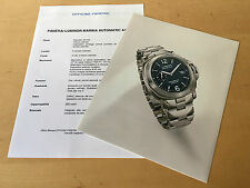 Press Kit PANERAI Luminor Marina Automatic Picture Details - Watch NOT Included
