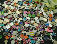 100PCS mix floating charm fit Origami owl living memory locket accessories m3