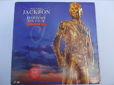Michael Jackson ‎– HIStory On Film Volume II, Laserdisc