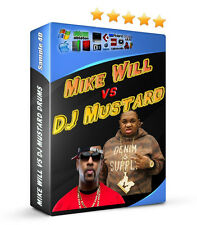 Mike Will Made It VS DJ Mustard Drum Samples FL Studio Reason MPC Hip Hop Rap