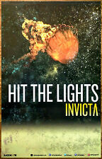 HIT THE LIGHTS Invicta Ltd Ed RARE Discontinued Poster+FREE Punk Emo Rock Poster