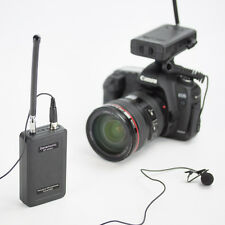 Saramonic SR-WM4C Wireless Radio Mic Lapel Lavalier Microphone Kit for DSLR