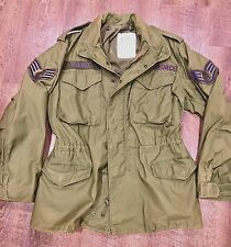 USAF US Air Force Men's Small Regular Cold Weather Field Coat Jacket Green