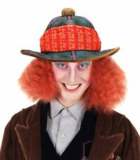 Disney Mad Hatter Safari Hat Pith Helmet Alice Through Looking Glass Wonderland