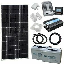 MICRO KIT - Small Off-Grid Household Solar Power System with 200W solar panel