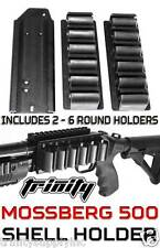 Mossberg 500 12 Gauge Side Saddle Tactical Shotgun 6 Shell Holder From TRINITY